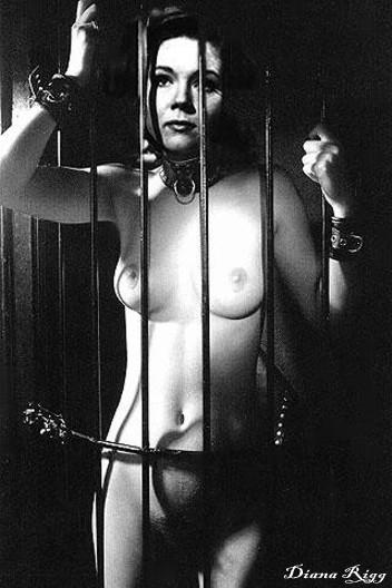 Diana Rigg As Emma Peel Nude