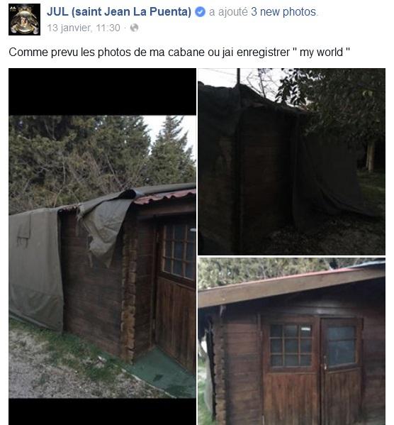 Une chronique du nouvel album de jul - Ma cabane au fond du jardin francis cabrel ...